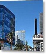 Las Vegas - Cosmopolitan Casino - 12121 Metal Print by DC Photographer