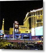 Las Vegas - Planet Hollywood Casino - 12124 Metal Print by DC Photographer