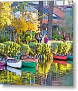 Late Afternoon Stroll Metal Print by Chuck Staley