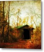 Late October Metal Print by Gothicolors Donna Snyder