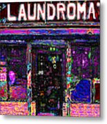 Laundromat 20130731 Metal Print by Wingsdomain Art and Photography