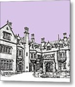 Laurel Hall In Lilac Metal Print by Adendorff Design