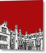 Laurel Hall In Red -portrait- Metal Print by Adendorff Design