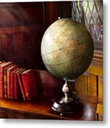 Lawyer - A World Traveler Metal Print by Mike Savad