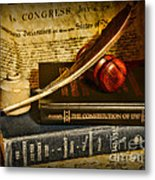 Lawyer - The Constitutional Lawyer Metal Print by Paul Ward