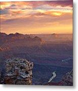 Le Grand Sunrise Metal Print by Darren  White
