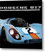 Le Mans King Metal Print by Peter Chilelli