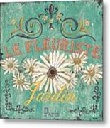 Le Marche Aux Fleurs 6 Metal Print by Debbie DeWitt