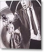 Lee Marvin - Point Blank Metal Print by Sean Connolly
