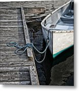 Left At The Dock Metal Print by Karol Livote