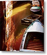 Legata Nel Canale Metal Print by Micki Findlay