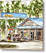 Leipers Fork Market Metal Print by Tim Ross