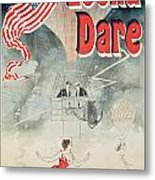 Leona Dare Metal Print by Jules Cheret
