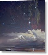 Let The Wind Blow Metal Print by Cliff Hawley