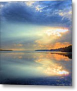 Let There Be Light Metal Print by JC Findley