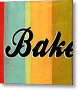 Let's Bake This Metal Print by Linda Woods
