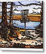 Lewisville Lake Hole Three Metal Print by Jason Reid