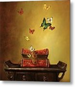 Liberation - Tibetan Dream Metal Print by Lori  McNee