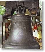 Liberty Bell Metal Print by Van D. Bucher