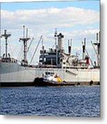 Liberty Ship  Metal Print by David Lee Thompson