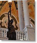 Library Of Congress - Washington Dc - 011311 Metal Print by DC Photographer