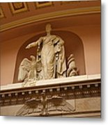 Library Of Congress - Washington Dc - 01132 Metal Print by DC Photographer
