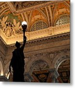 Library Of Congress - Washington Dc - 01134 Metal Print by DC Photographer