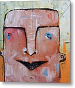 Life As Human No. 37 The Lost Tribe Metal Print by Mark M  Mellon