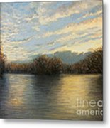 Light At The End Of The Day Metal Print by Kiril Stanchev