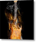 Light My Fire Metal Print by Peter Chilelli