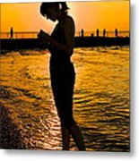 Light Of My Life Metal Print by Frozen in Time Fine Art Photography