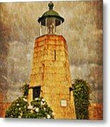 Lighthouse - La Coruna Metal Print by Mary Machare