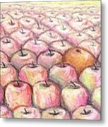 Like Apples And Oranges Metal Print by Shana Rowe Jackson