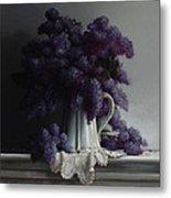 Lilacs Study No.2 2011 Metal Print by Larry Preston
