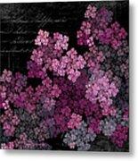 Lilacs Metal Print by Sylvia Thornton