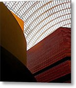 Lines And Light Metal Print by Rona Black