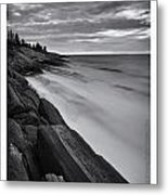 Lines Of Delineation Metal Print by Chad Tracy