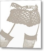 Lingerie IIi Metal Print by John Silver