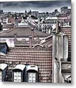 Lisbon Rooftops I Metal Print by Marco Oliveira