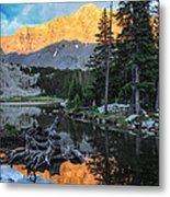Little Bear Peak And Lake Como Metal Print by Aaron Spong