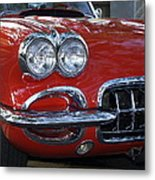 Little Red Corvette Metal Print by Bill Gallagher