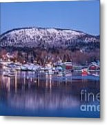 Little Town Of Camden Metal Print by Susan Cole Kelly