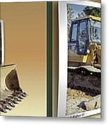 Loader - Cross Your Eyes And Focus On The Middle Image Metal Print by Brian Wallace