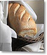 Loaf Of Bread Metal Print by Krasimir Tolev