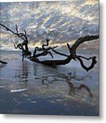 Loch Ness Metal Print by Debra and Dave Vanderlaan