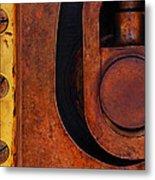 Lock Down Metal Print by Skip Hunt