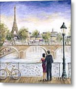Locked In Love Metal Print by Marilyn Dunlap
