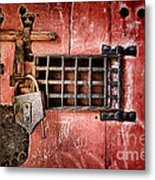 Locked Up Metal Print by Olivier Le Queinec