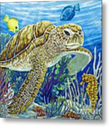 Logging Sea Time Metal Print by Danielle  Perry