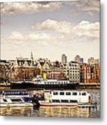 London From Thames River Metal Print by Elena Elisseeva